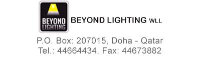 Beyond Lighting Wll In Doha Qatar